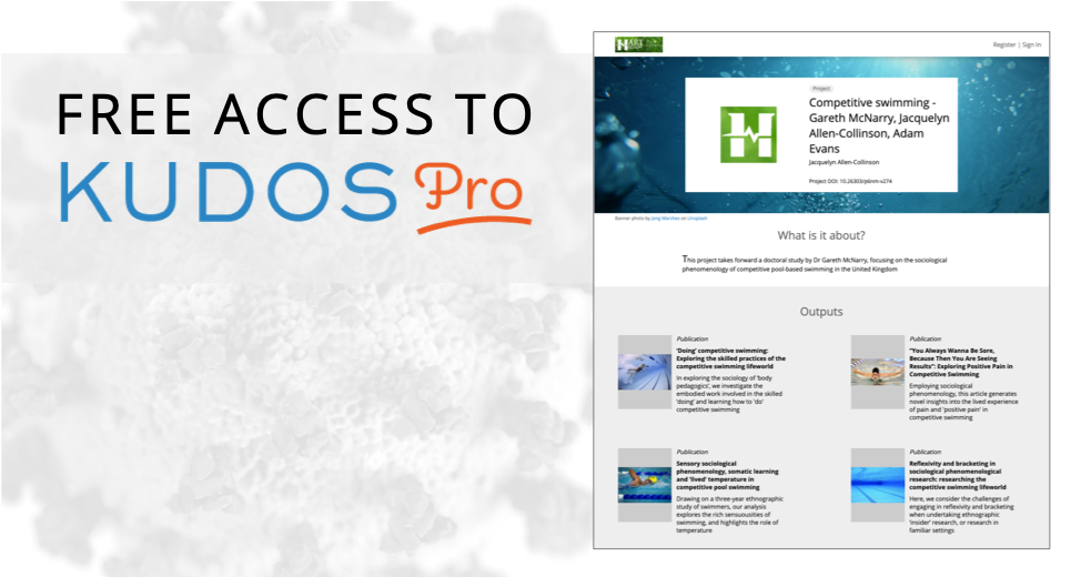 Free Access to Kudos Pro