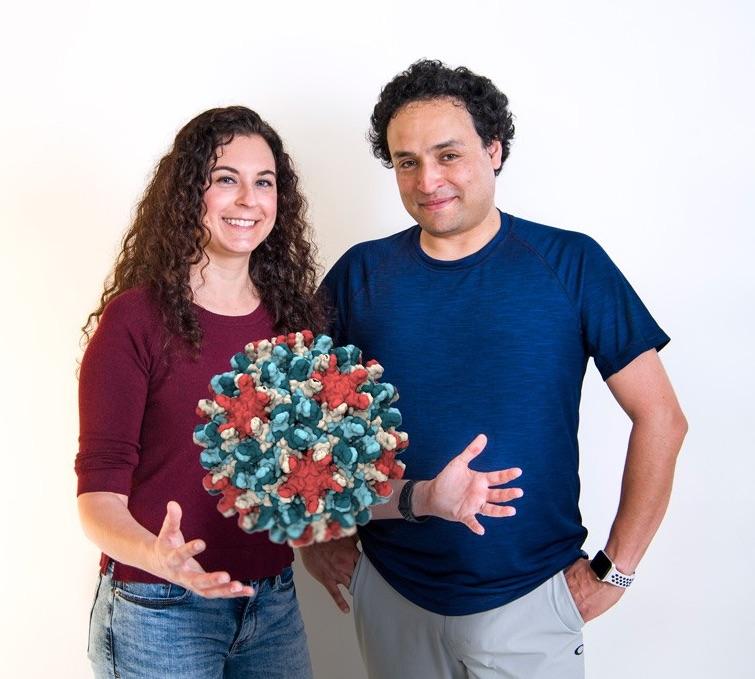 Jodi Hadden and Juan Perilla, University of Delaware
