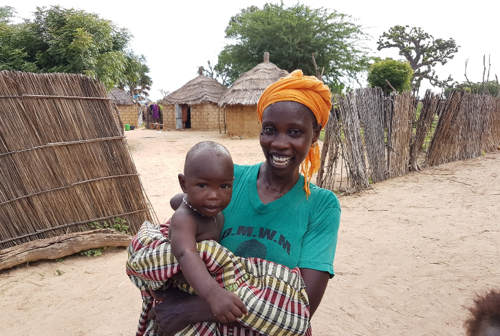 Mother and Child in Senegal