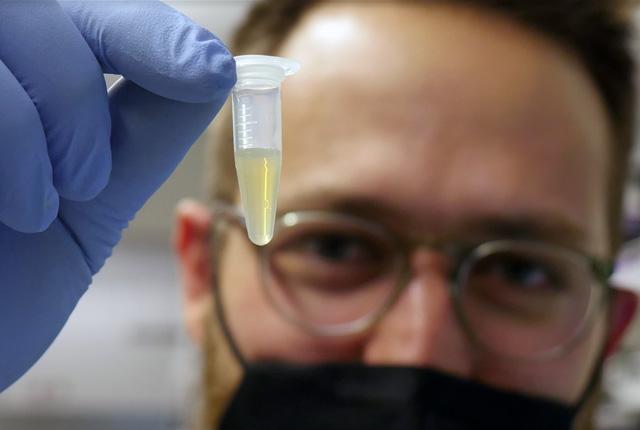 Jesse Erasmas Replicating RNA Vaccine Research