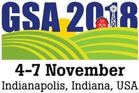 2018 GSA Annual Meeting Logo