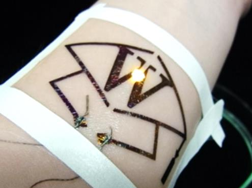 Nanosheet Electronic Tattoo