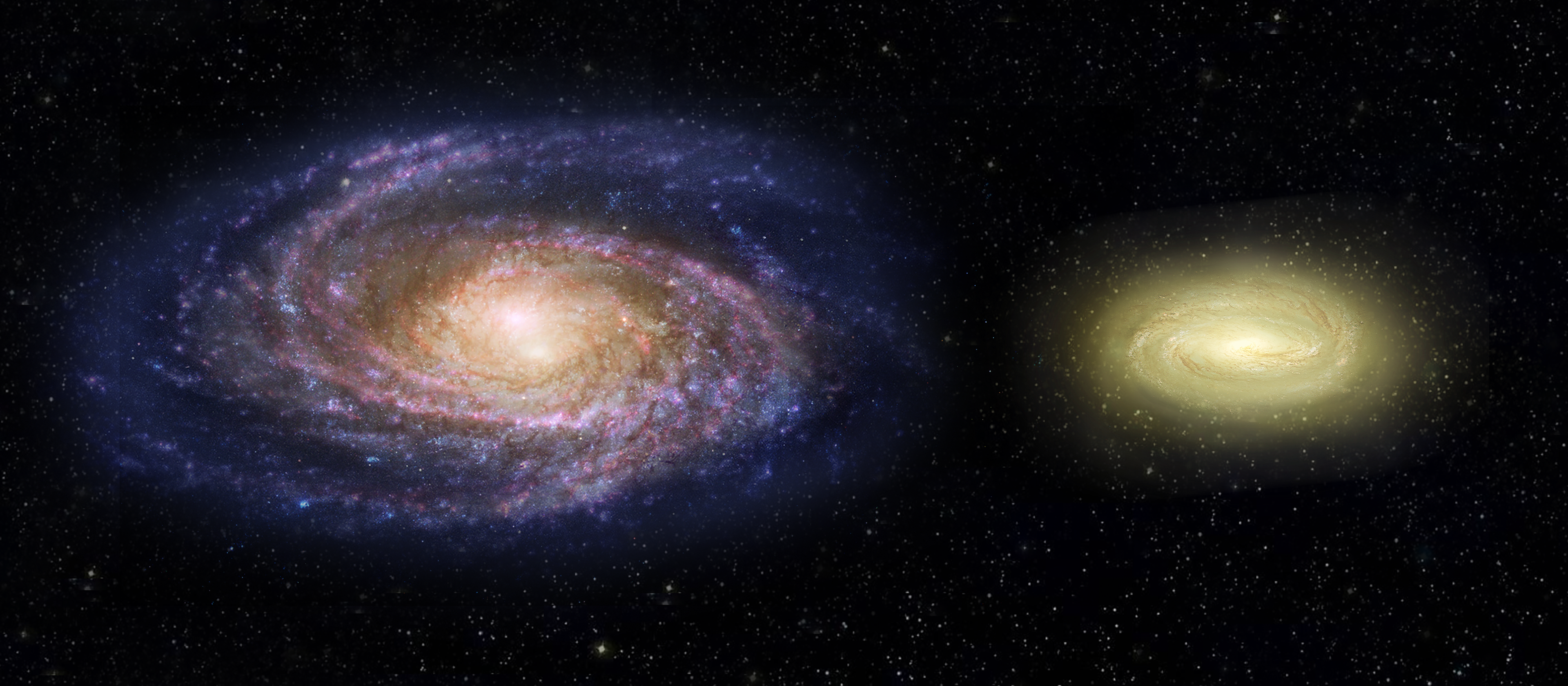 Comparing a Dead Galaxy to Ours