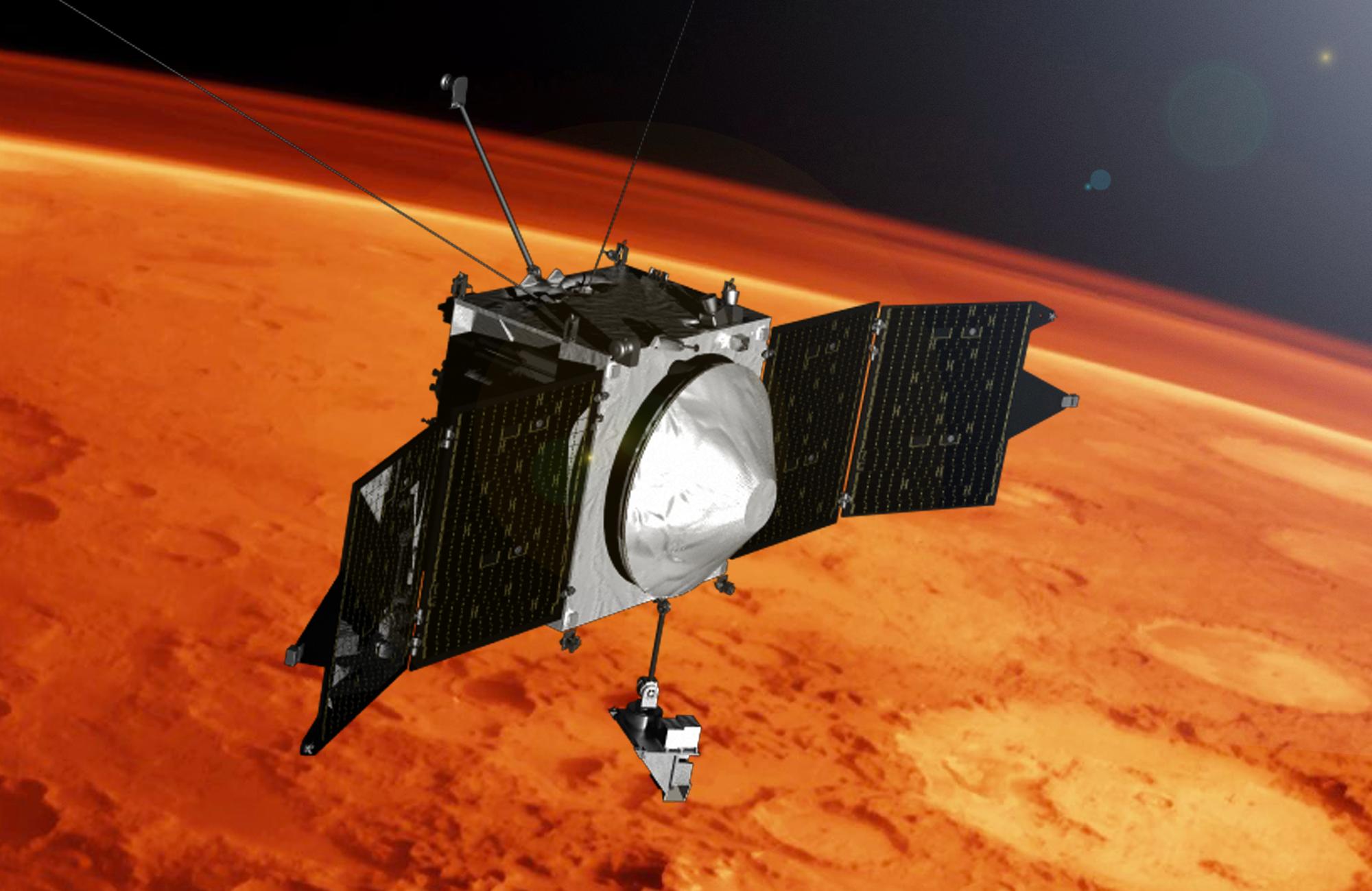 Illustration of MAVEN