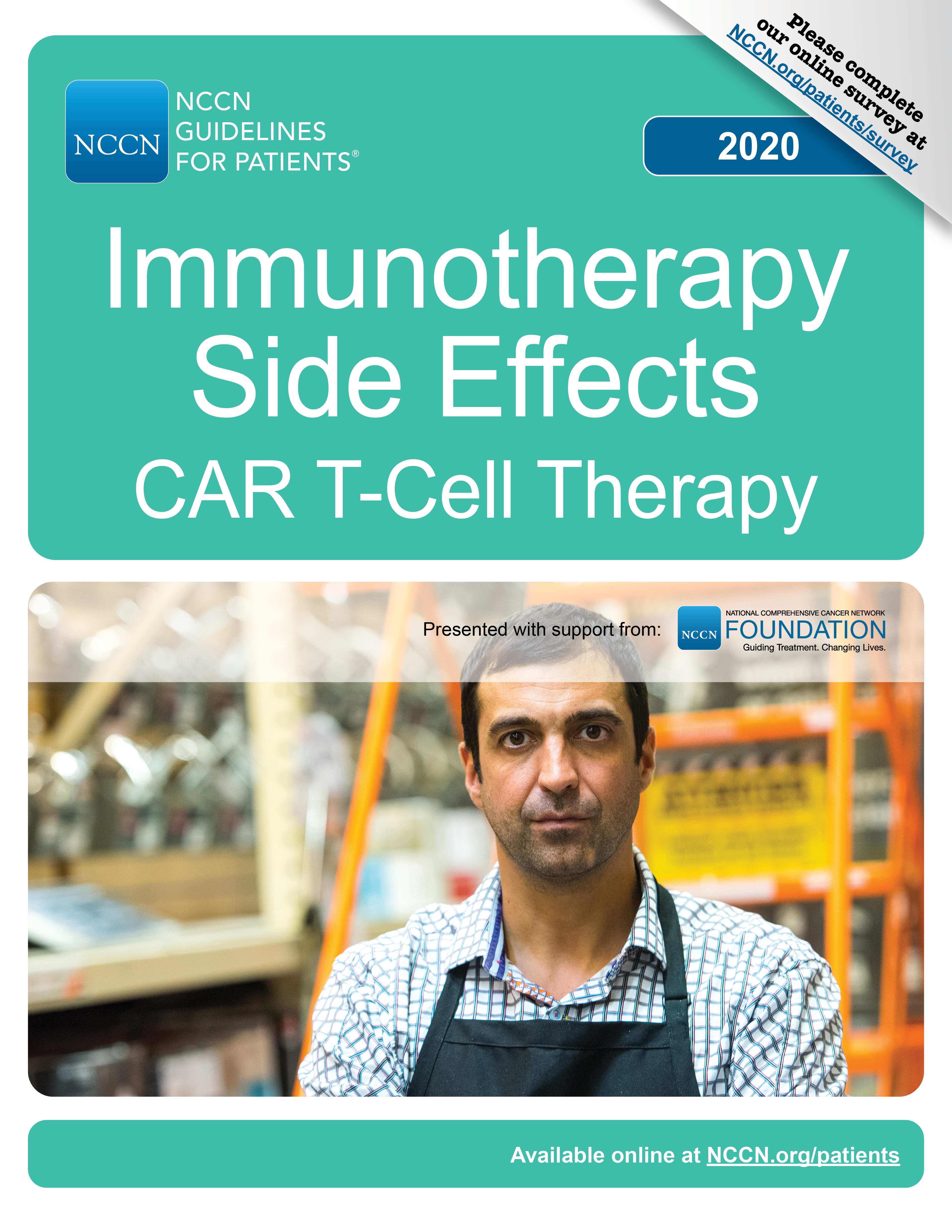 NCCN Guidelines for Patients®: Immunotherapy Side Effects -- CAR T-Cell Therapy