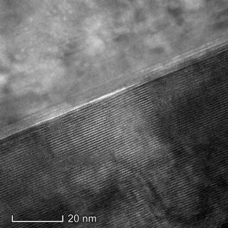 Topological Insulator Microscope Image