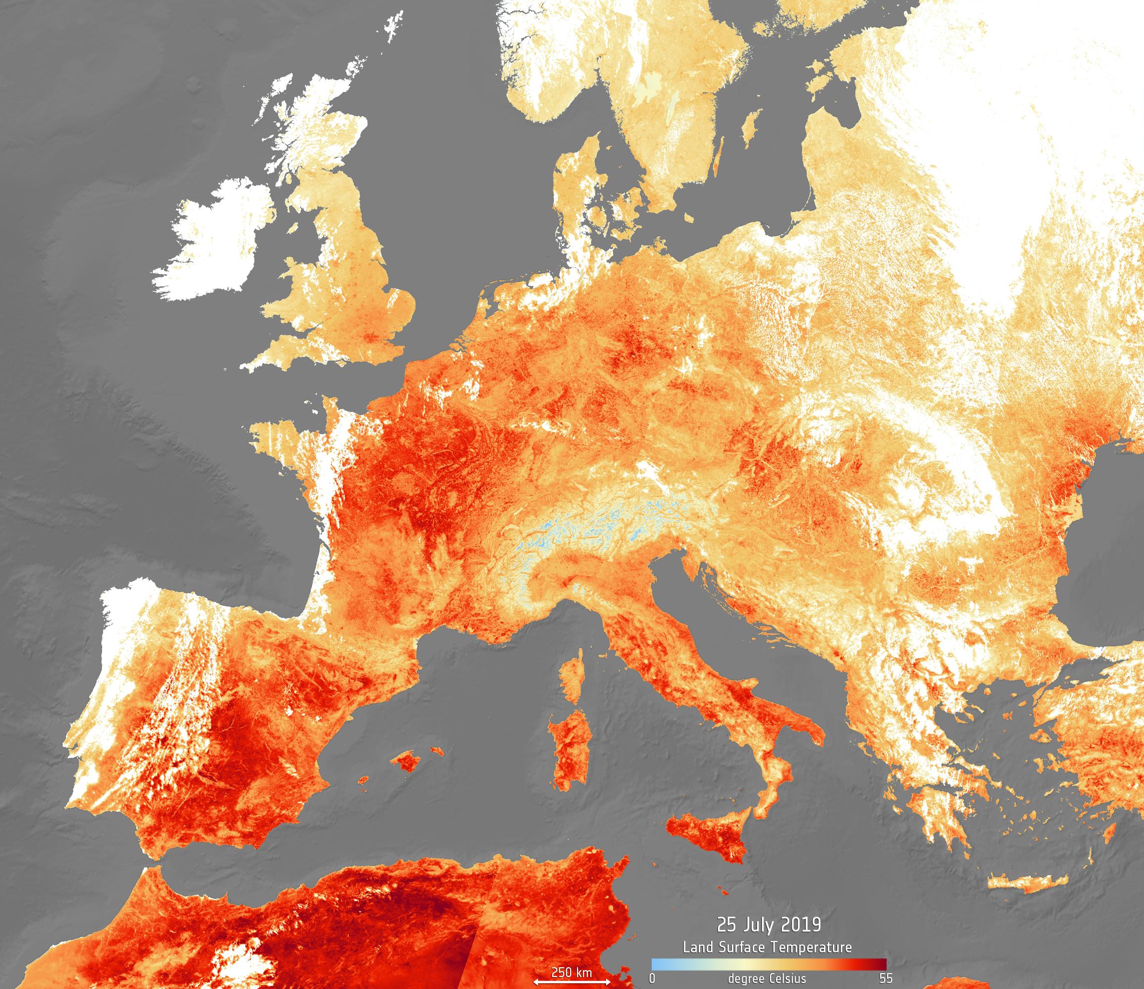 ESA 2019 Heatwaves