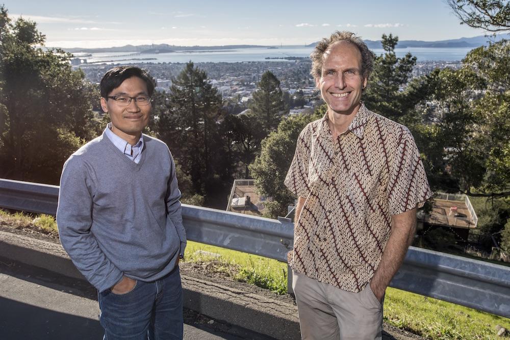 Researchers Marc Fischer and Seongeun Jeong