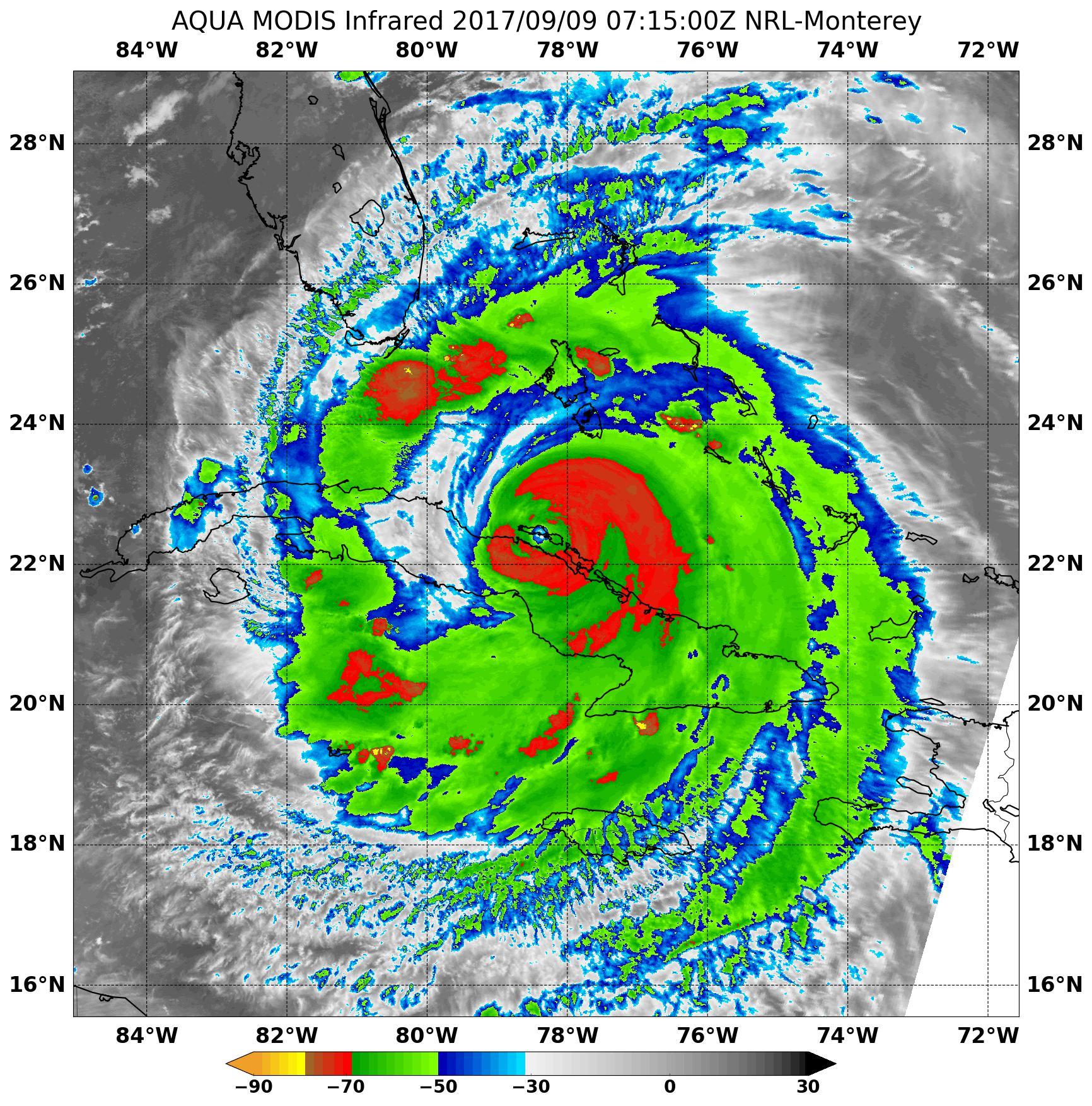 AIRS Image of Irma
