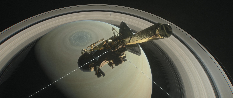 Illustration of the Cassini spacecraft