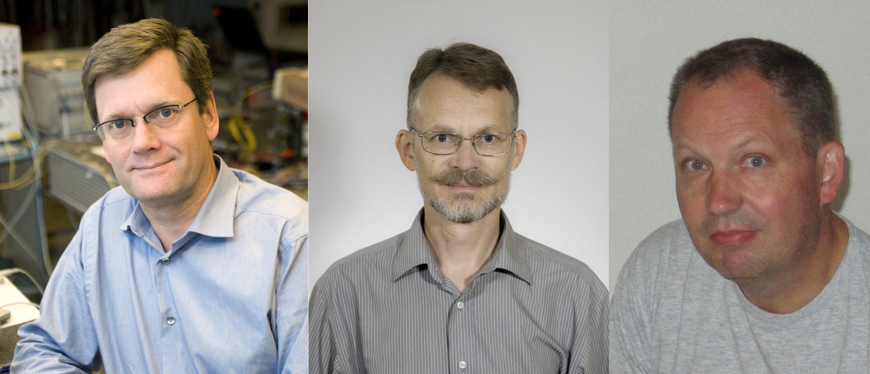 Left to Right: Peter Andrekson, Erik Agrell, Per Larsson Edefors