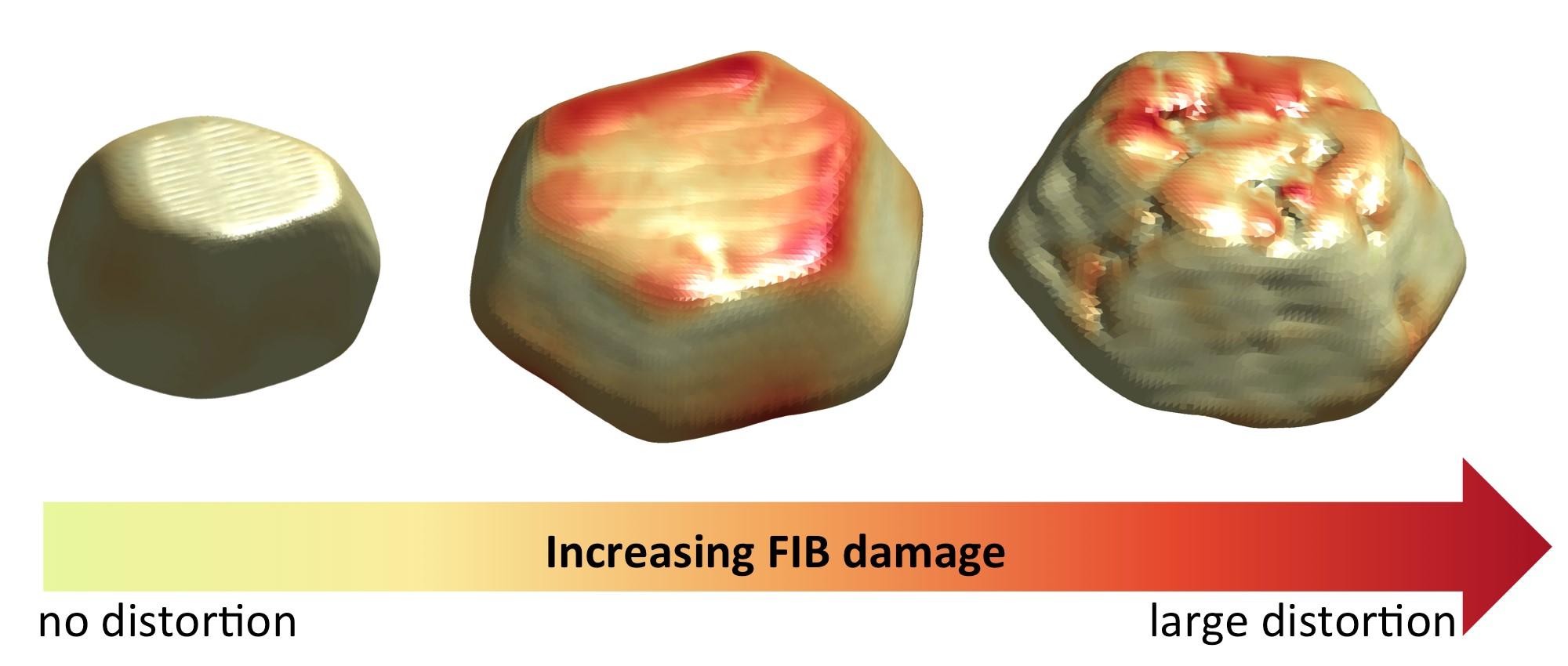 FIG 3 FIB Distortion
