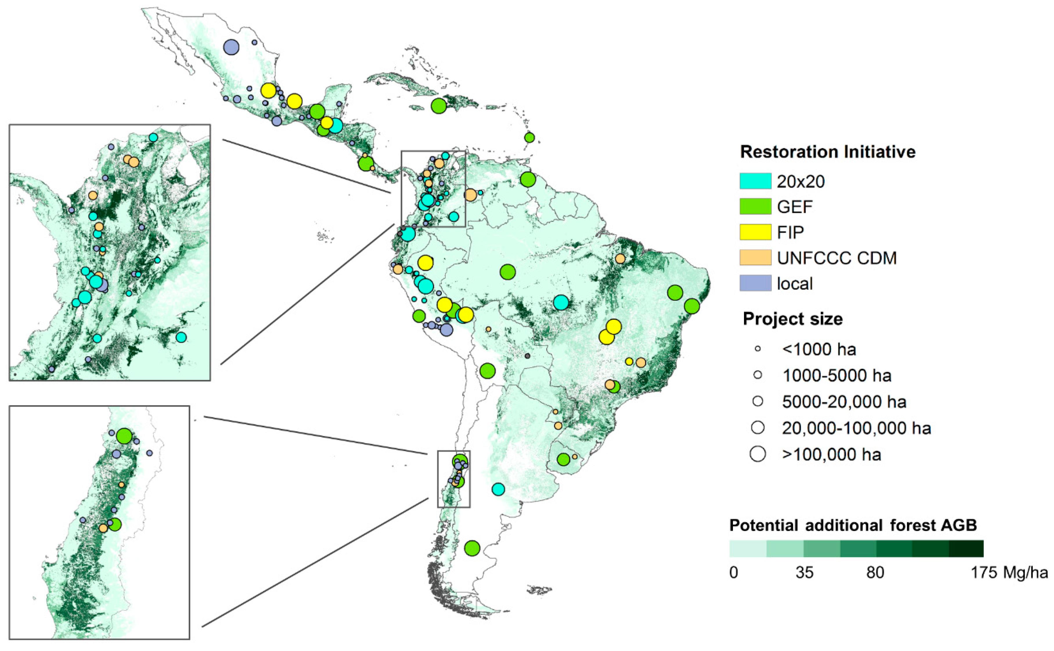 Land Restoration Map