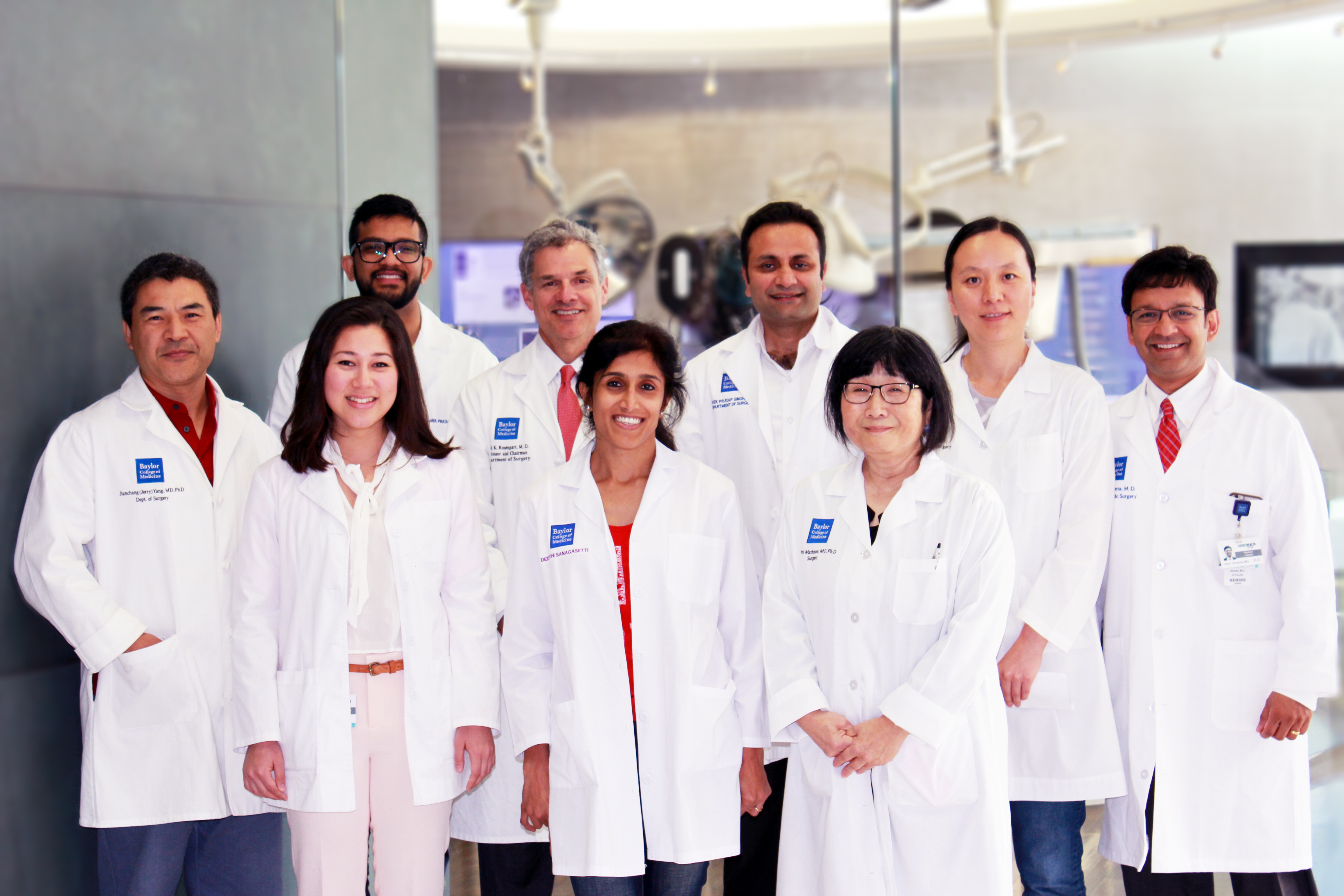 The Research Team at the Laboratory for Cardiac Regeneration, Baylor College of Medicine