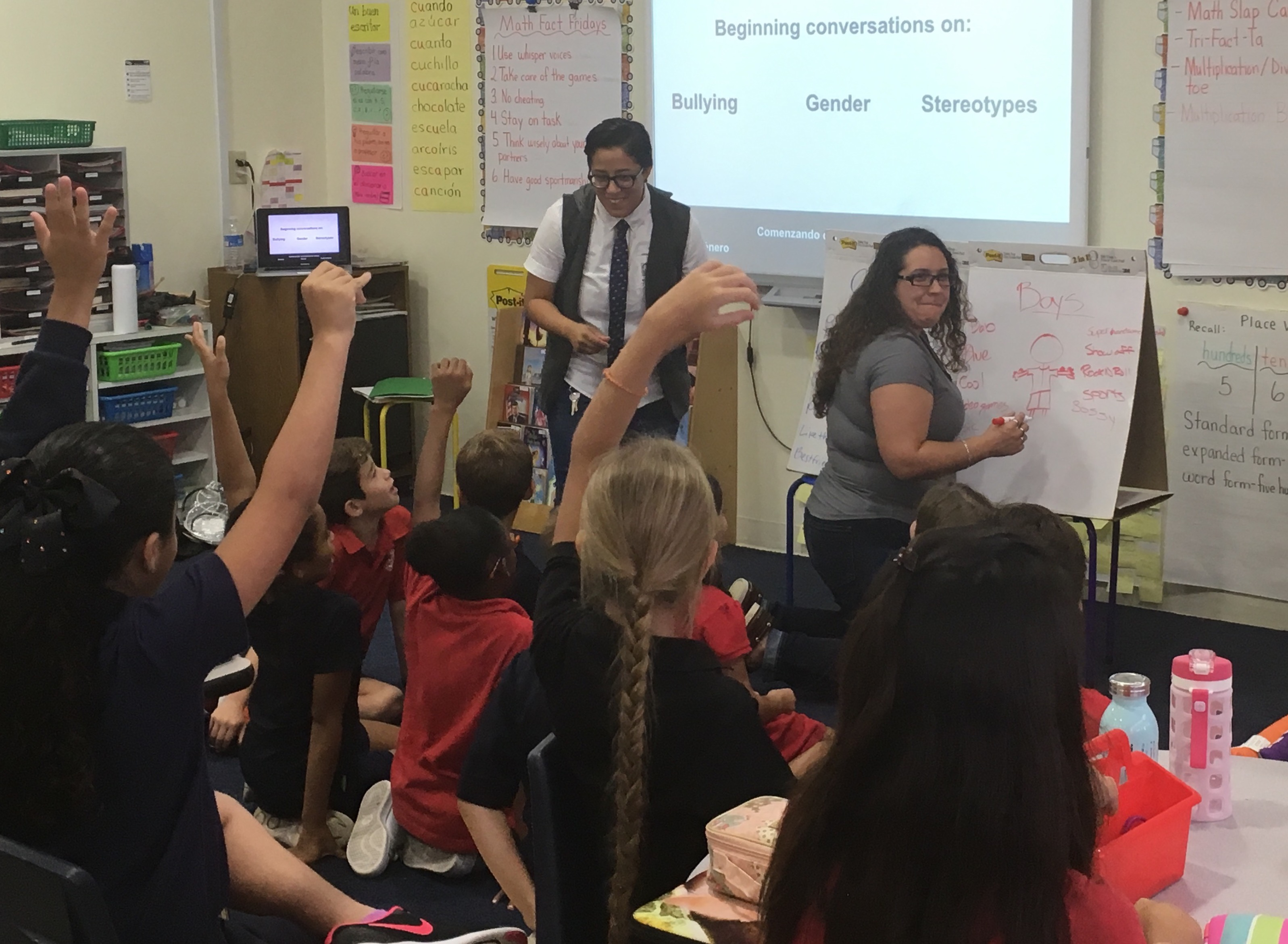 YES Institute withMiami Country Day School Second-grade Students
