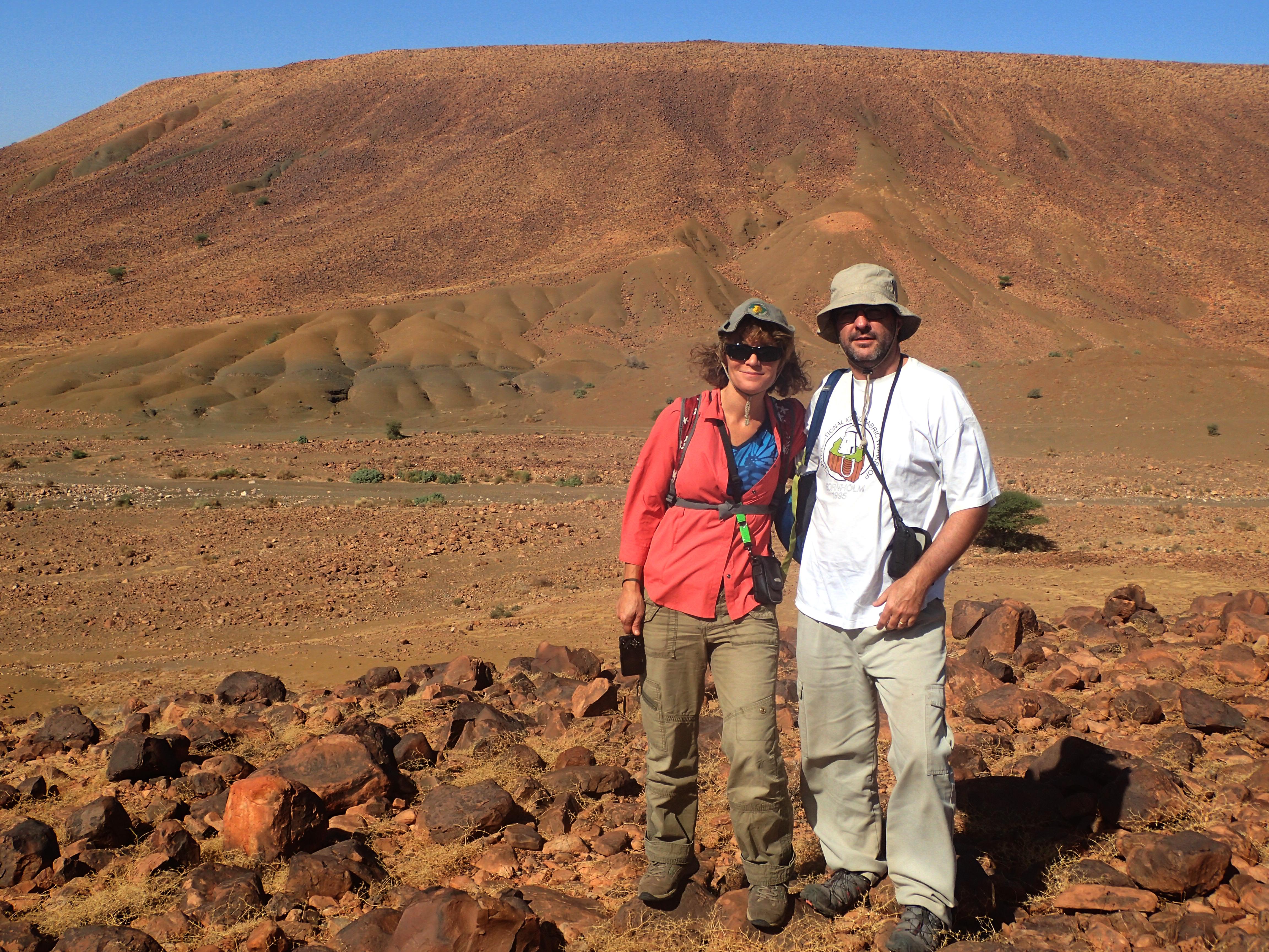 USask paleobiologists Gabriela Mángano and Luis Buatois