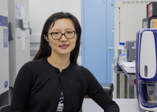 Dr Xiaoqi Feng, John Innes Centre
