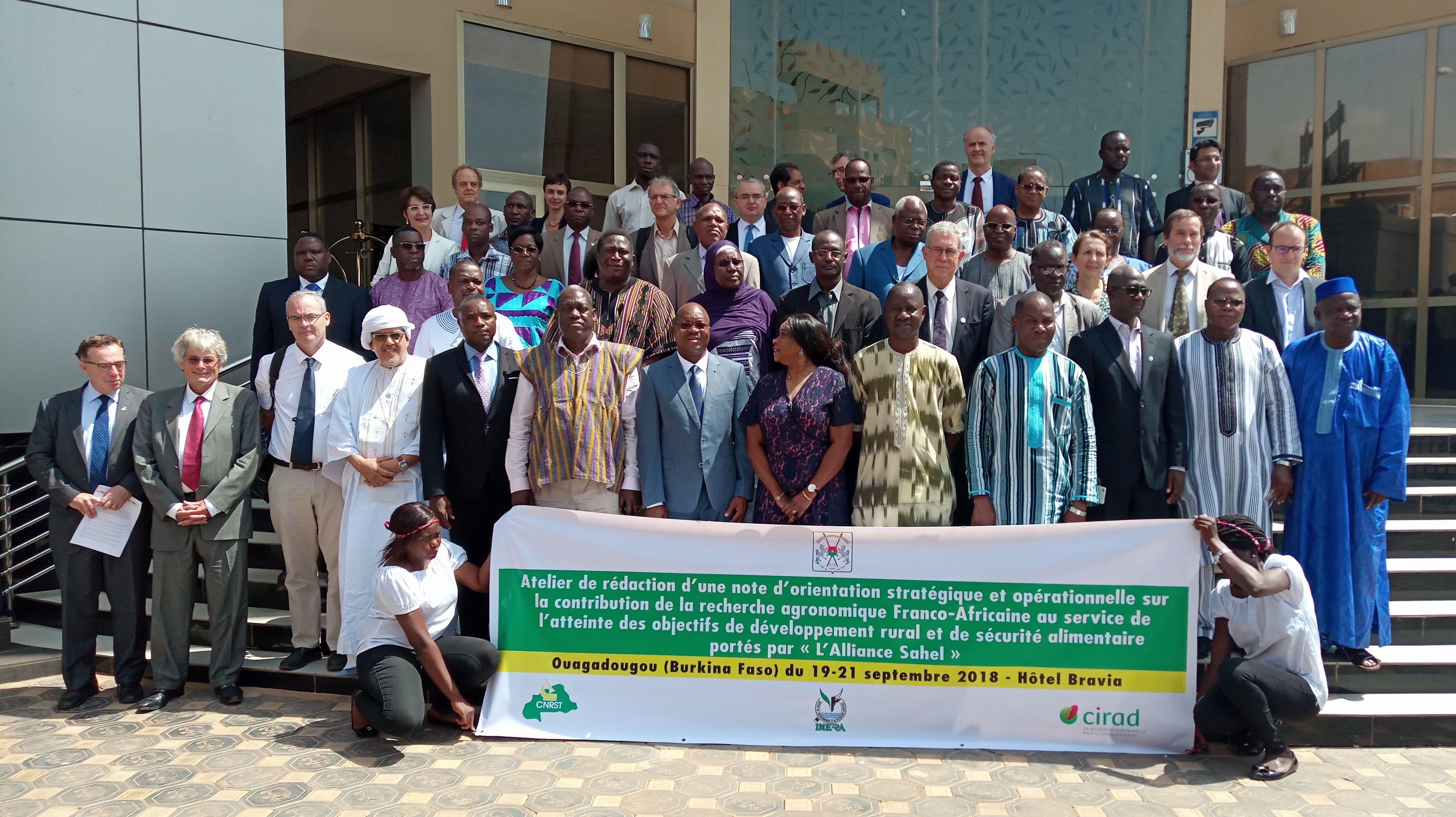 Participants in the Workshop Held to Draft the Ouagadougou Declaration de Ouagadougou