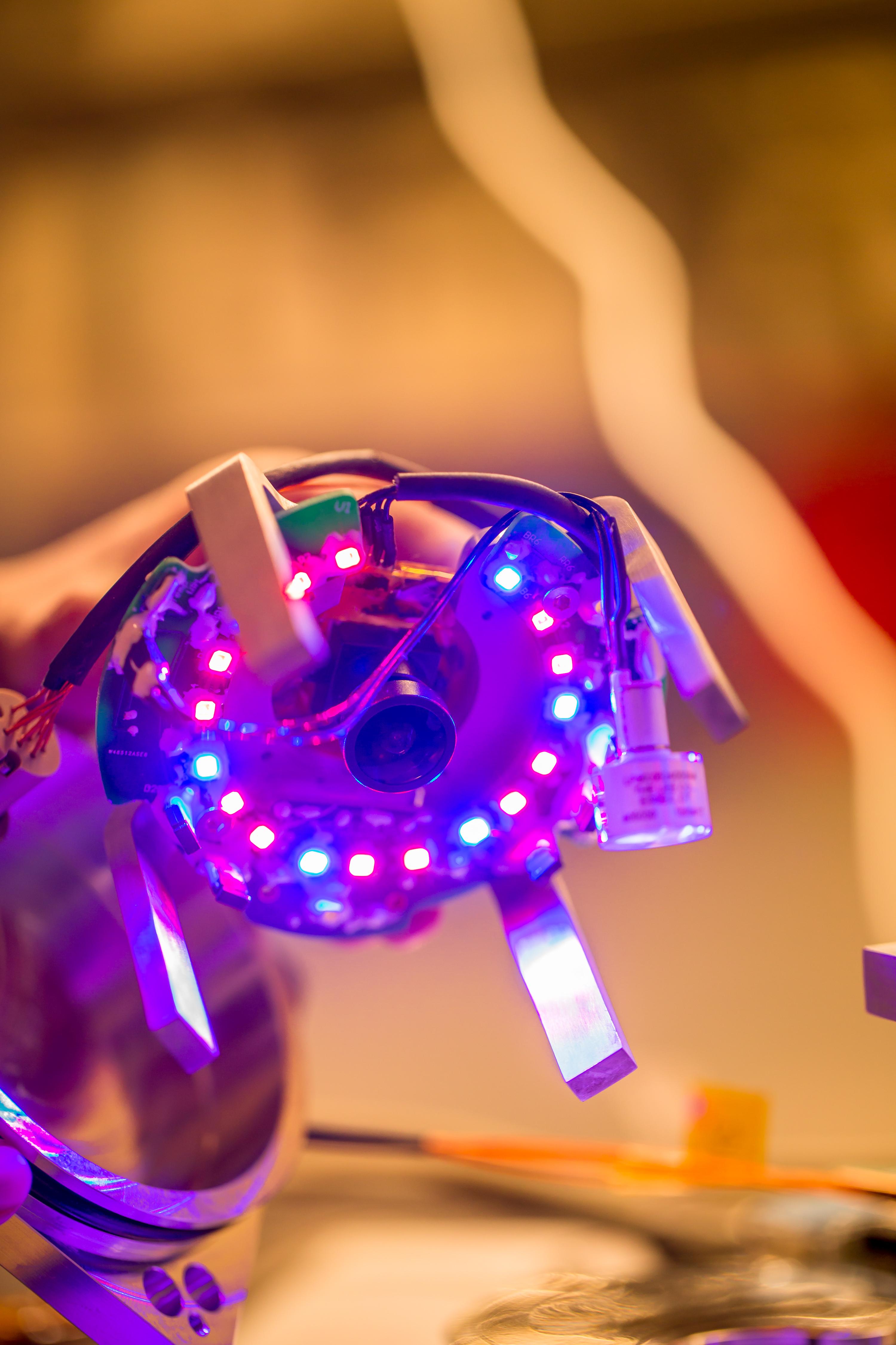 LED Grow Lights and Camera Unit
