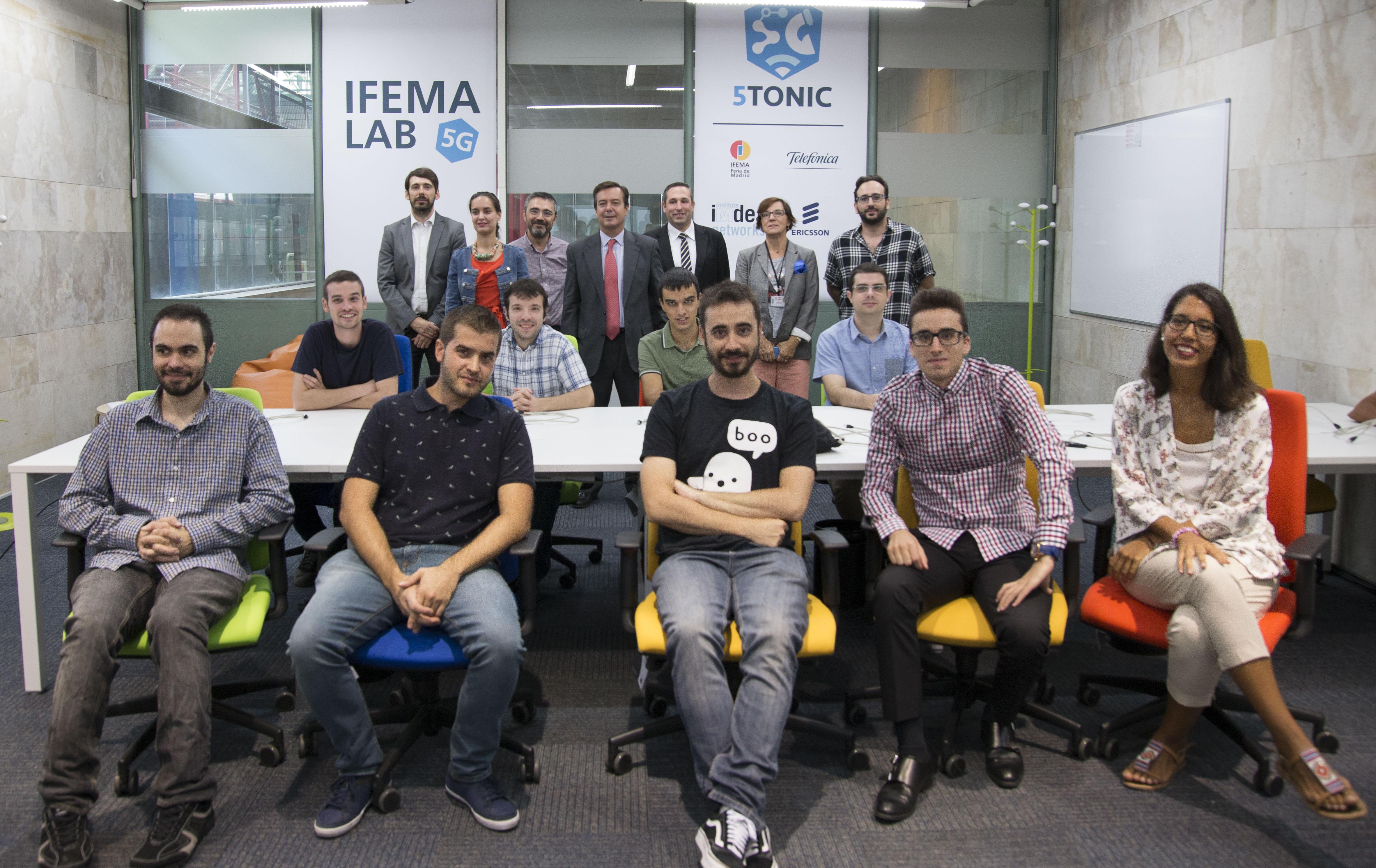IFEMA 5G LAB Team Presentation