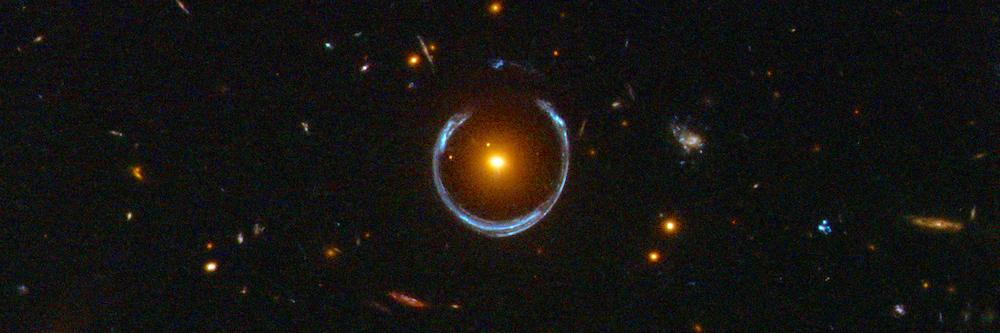Cosmic Horseshoe Galaxy