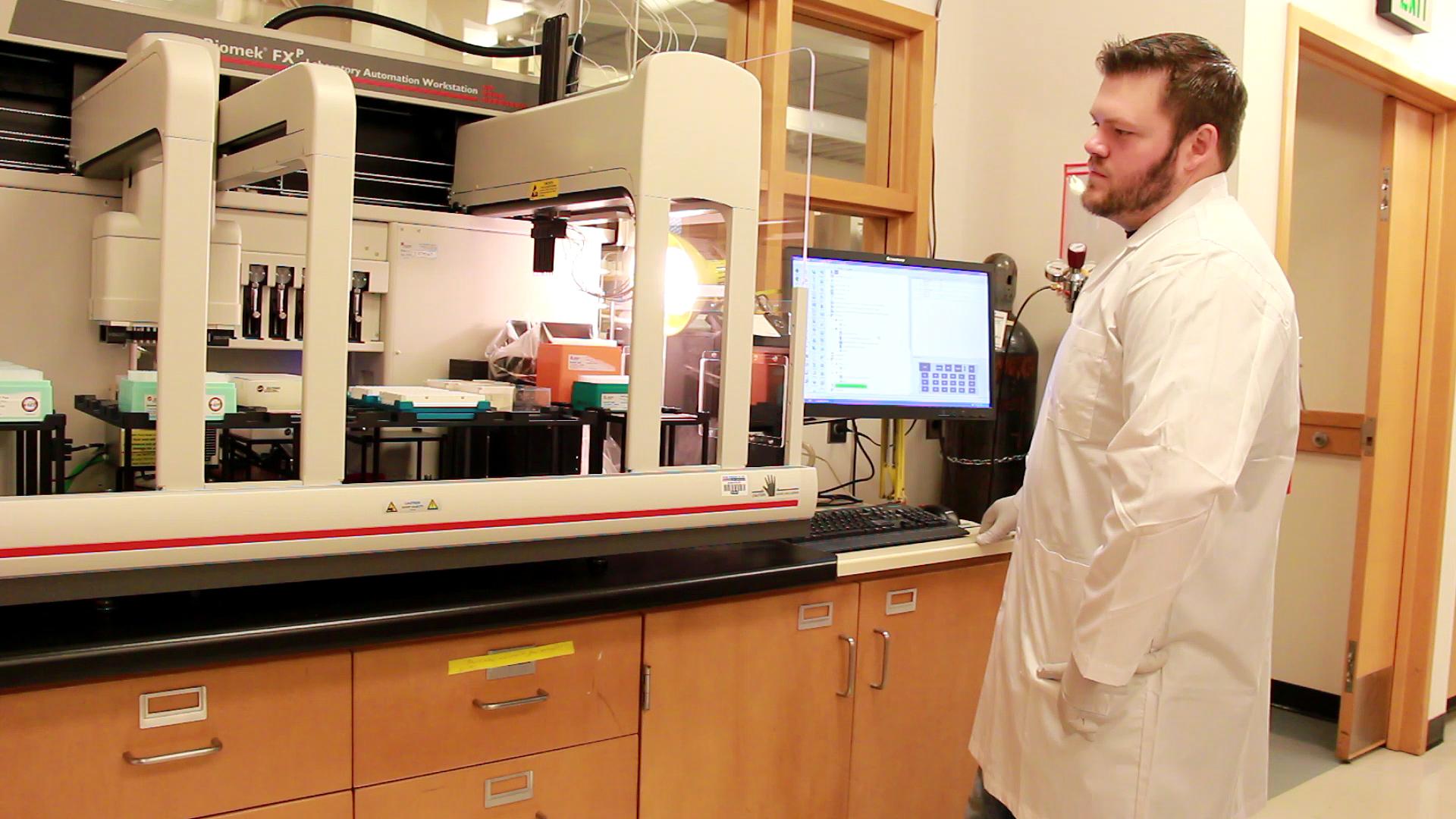 Chris Williams Microbiology Robotics University of Washington