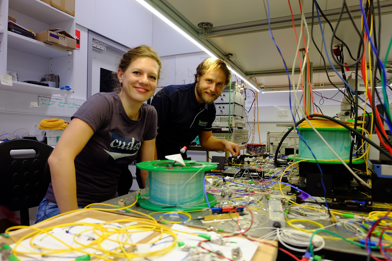 Dr. Birgit Stiller and Dr. Moritz Merklein, University of Sydney