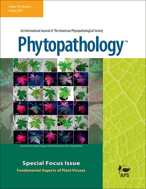 Phytopathology Focus Issue Cover